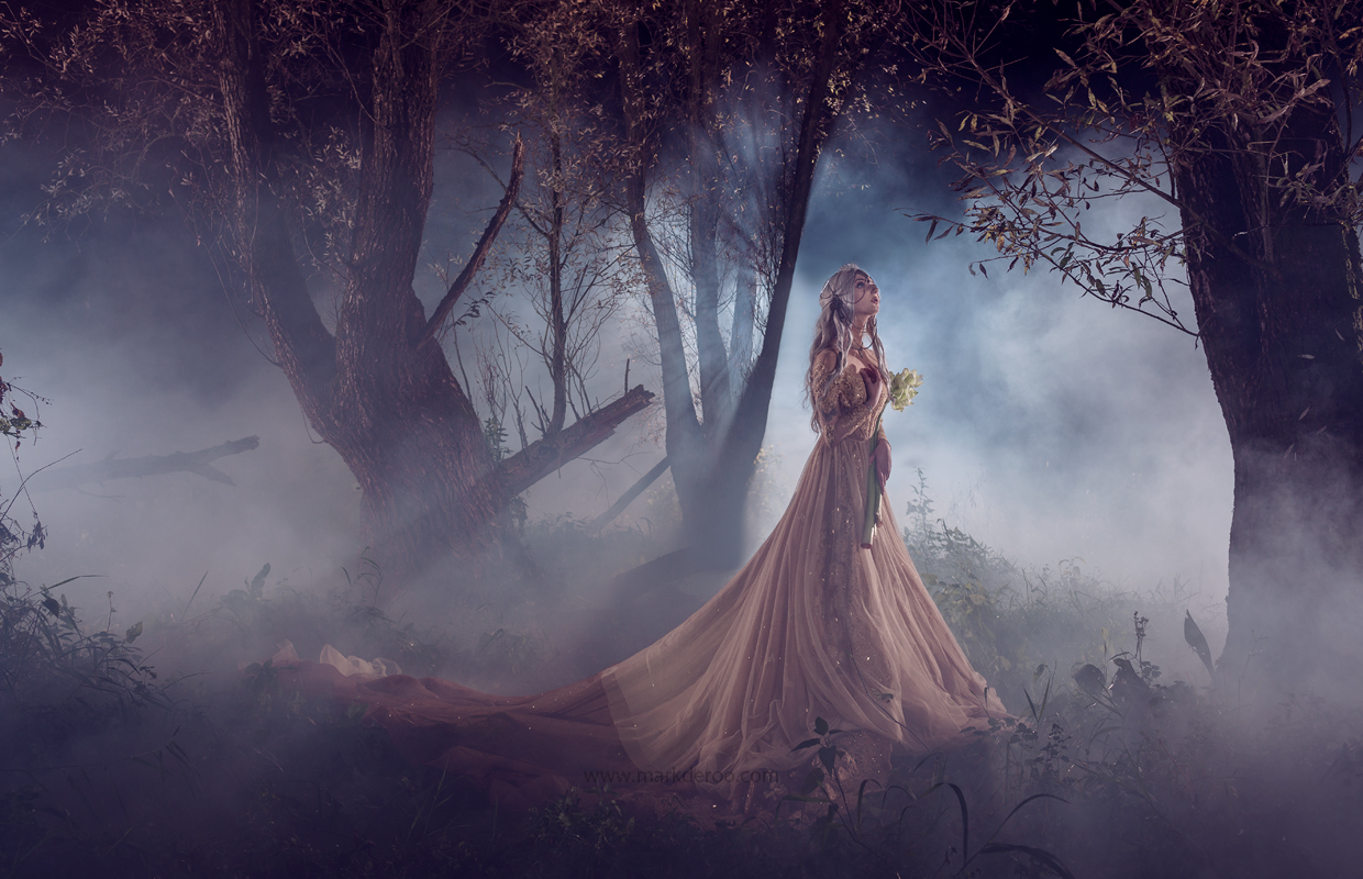 Epic fashion forest photoshoot