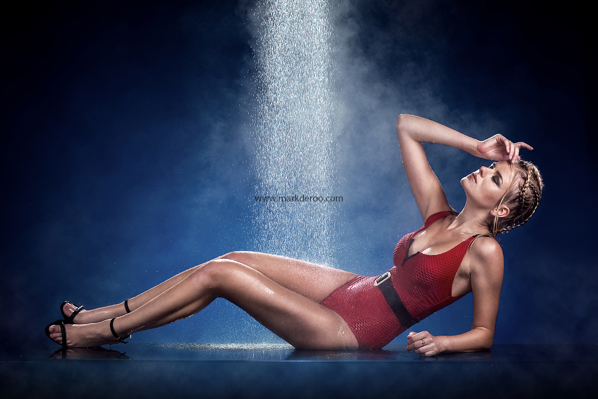 Watershoot Mark de Roo workshop Muah Sha Vlijter model Marianne Vink